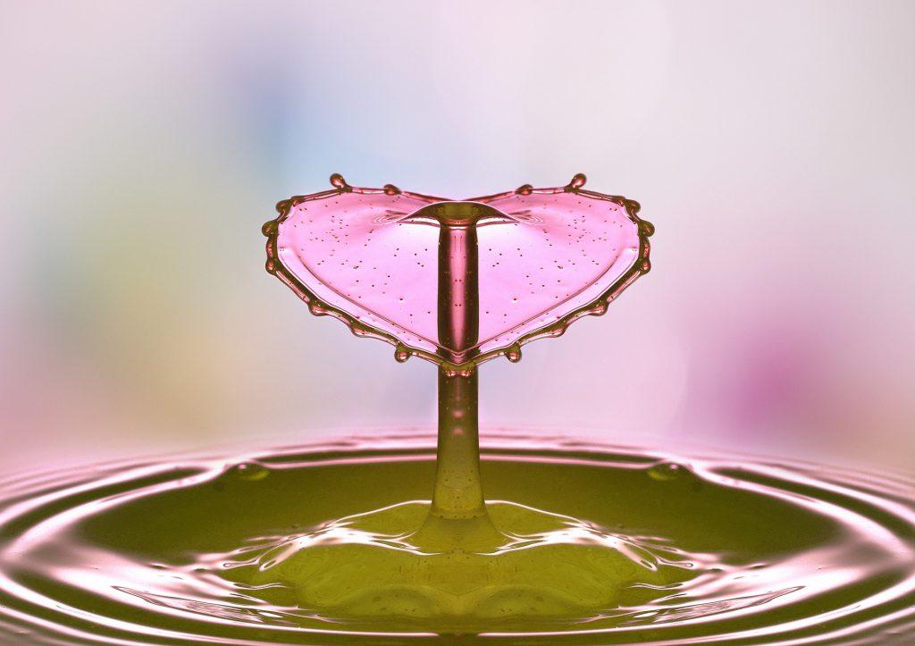 waterdruppel hart